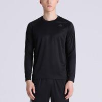 adidas阿迪达斯男装长袖T恤2017新款综合训练紧身服运动服AJ5016