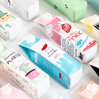 韩版文具个性简约笔袋韩国可爱男女初中高中学生大容量创意铅笔盒