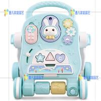 婴儿学步车手推车多功能防o型腿男女宝宝助步车6-18个月儿童玩具 多功能音乐学步车【结构稳固】