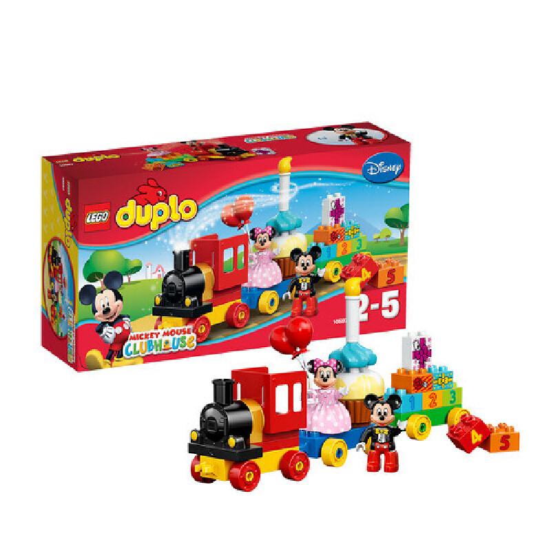 [当当自营]LEGO 乐高 duplo得宝系列 米奇和米妮的生日派对 积木拼插儿童益智玩具 10597【当当自营】适合2-5岁,24pcs小颗粒积木