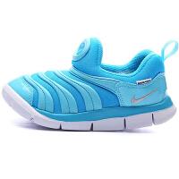 耐克(Nike)新款毛毛虫男女童鞋儿童婴童运动休闲跑步鞋 343938-417 蓝色