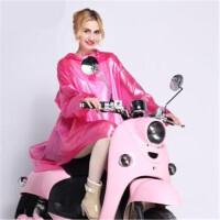 明嘉带袖电动车雨衣 加大摩托车雨衣单人 电车雨衣M1507B