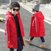 儿童棉衣中长款厚款棉袄韩版冬季2018新款外套男孩