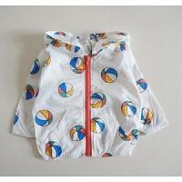 棉质布空调衫 男童防晒服开衫外套 卡通调皮风 宝宝爱的宝宝防晒