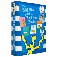 英文原版绘本 苏斯博士6合1故事书 The Big Blue Book of Beginner Books 儿童英语阅