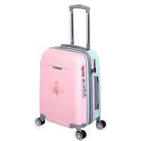 拉杆箱女行李箱万向轮可爱小清新学生18旅行箱20寸韩版儿童密码箱