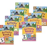 【首页抢券300-100】Jolly Phonics Activity 7 Books Collection 自然拼读法