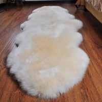 羊毛地毯卧室客厅床边地毯羊毛沙发垫飘窗垫整张羊皮北欧地毯