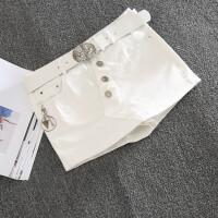 牛仔半身裙裤假两件2018时尚性感迷你小短裙包臀显瘦修身弹力短裤
