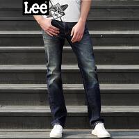 Lee男装 2017春夏新品中腰修身直脚男士牛仔裤LML724Z025DA