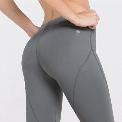 蜜桃臀紧身裤女跑步运动裤速干健身裤透气弹力翘臀提臀裤瑜伽长裤 发货周期:一般在付款后2-90天左右发货,具体发货时间请以与客服协商的时间为准