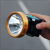 高容量双锂电池充电头灯 防水强光充电灯 户外夜钓头灯钓鱼灯
