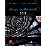 【预订】Loose Leaf for Computing Essentials 2019 9781260210149