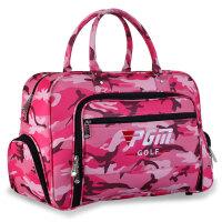 高尔夫衣物包 时尚迷彩衣服包 防水尼龙包 大容量 独立鞋袋