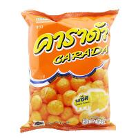 【满99减50元】泰国进口卡啦哒奶酪味米球60克膨化米球休闲零食