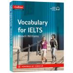 柯林斯雅思考试词汇 英文原版 Vocabulary for IELTS 雅思词汇 英语词汇自学英文书 英文版正版进口书