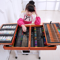 六一礼物儿童画画笔绘画套装小学生水彩笔学习文具美术小女孩生日