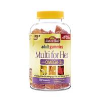 【网易考拉】【提高免疫力】Nature Made 天维美女士欧米伽3成人软糖 150粒/瓶