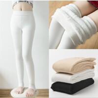 女童舞蹈袜儿童连裤袜子学生舞蹈裤 纯棉 加绒 加厚 白色秋冬毛圈