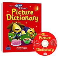 朗文幼儿英语彩图词典 英文原版 Longman Young Children's Picture Dictionary