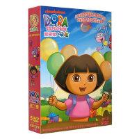 幼儿童早教动画片爱冒险爱探险的朵拉第2季5DVD光盘碟片英语高清