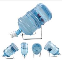 纯净桶装水压水器 吸水器 折叠支架 饮水机压水泵 抽水器矿泉大桶水倒置吸抽 台式加高钢架