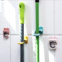 拖把挂钩浴室置物架家用多功能拖把架卫生间扫把挂架拖把夹