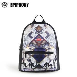 epiphqny韩版时尚甜美风双肩背包女士休闲书包