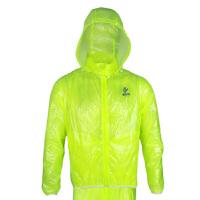 户外骑行服 雨衣雨裤套装 山地自行车雨衣透气分体雨披便携带帽单车上衣