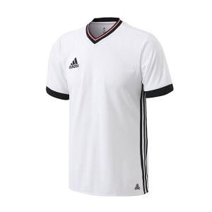 adidas阿迪达斯男装短袖T恤2018足球短袖比赛服足球运动服AZ9741