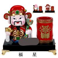 送外国人的中国特色礼物中国风京剧脸谱人物熊猫笔筒摆件中国特色礼品送老外礼物Z01