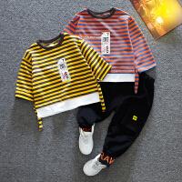 童装男童套装宝宝春秋季男孩衣服小儿童装髦两件套