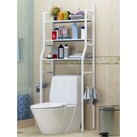 卫生间浴室置物架壁挂厕所洗手间收纳用品用具落地洗衣机马桶架子 p1t