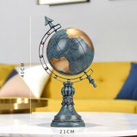 创意地球仪摆件美式复古客厅电视柜酒柜装饰品书桌工艺品家居摆设