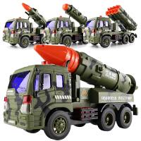 导弹车模型儿童玩具车男孩1-3周岁2军事大号电动男童小孩宝宝