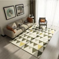 欧式简约地毯客厅茶几毯北欧家用卧室满铺床边地毯办公室毯可定制