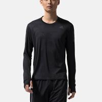 adidas阿迪达斯男子长袖T恤2018新款跑步训练干爽运动服CE7289