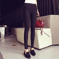 加绒加厚打底裤女外穿黑色巨显瘦秋冬新款韩版紧身小脚铅笔裤