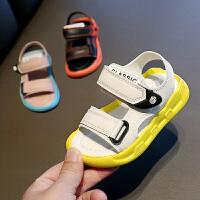 男童凉鞋夏季儿童沙滩鞋软底宝宝鞋女童运动凉鞋