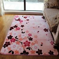 田园客厅茶几地毯卧室床前毯沙发毯卧室客厅茶几地毯飘窗毯可定做