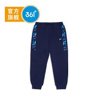 【新春4折价:79.6】361度童装男童裤子儿童针织长裤 秋季儿童裤子K51813559