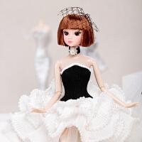 换装娃娃小香风时尚公主娃娃女孩生日礼物