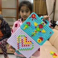 拼图儿童益智立体3d模型女孩男孩新年礼物儿童幼儿园宝宝玩具6岁