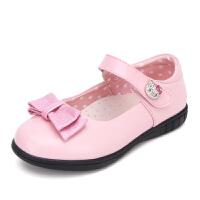 HELLO KITTY童鞋女童公主皮鞋新款女孩舞蹈鞋学生单鞋