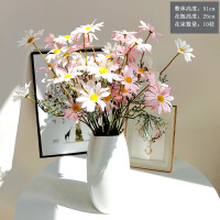 仿真小雏菊花套装荷兰菊塑料假花干花装饰插绢花餐桌客厅酒店摆件