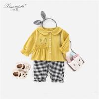 女宝宝女孩春装女童婴幼儿儿童衣服童装套装