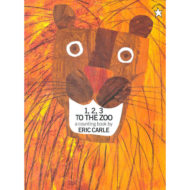 1, 2, 3 to the Zoo 《1、2、3到动物园》艾瑞-卡尔 绘本 ISBN9780698116450
