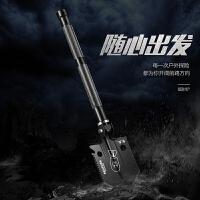 汉道工兵铲中国多功能折叠军工铲子户外特种兵工铲子铁锹军版原品