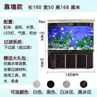 【品牌热卖】圆形鱼缸水族箱客厅小型家用玻璃造景金鱼缸乌龟缸免换水生态鱼缸
