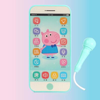 可充电触屏录音玩具手机男孩女孩可咬儿童宝宝仿真带话筒智能电话 发货周期:一般在付款后2-90天左右发货,具体发货时间请以与客服协商的时间为准